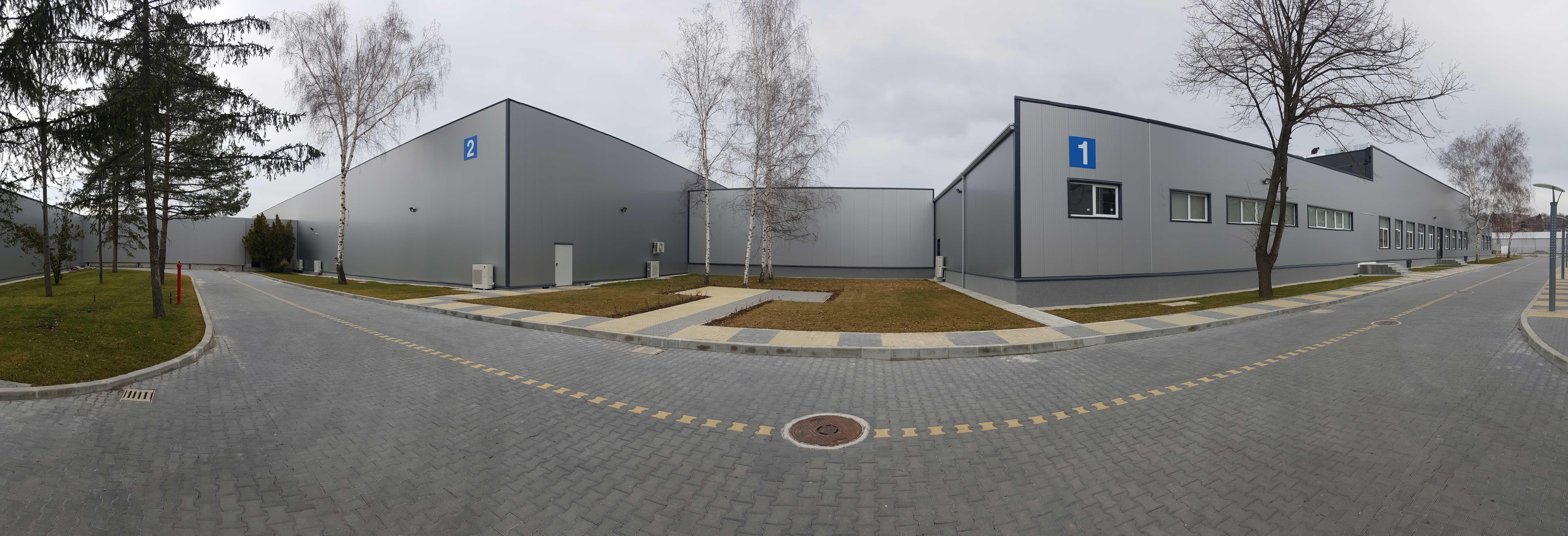 Промишлени халета на площадка